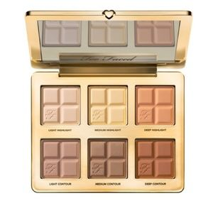 NEW Too Faced Cocoa Contour and Highlight Palette